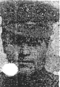 Jack William, Sgt, Avoch