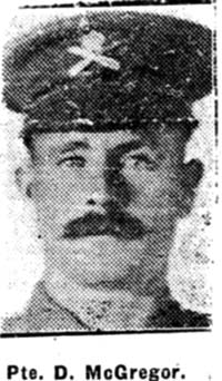 Macgregor Duncan, Pte, Badcaul