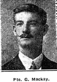 Mackay George, Pte, Balblair