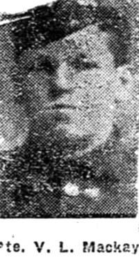 Mackay Victor L, Pte, Balblair