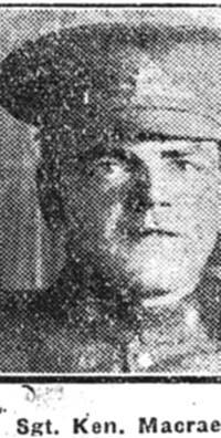 Macrae Ken, Sgt, Balintore