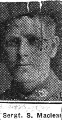 Maclean Simon, Pte, Balnakyle