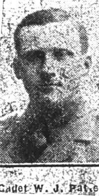 Paterson W J, Cadet, Conon