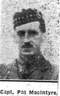 Macintyre Patrick B, Capt, Conon
