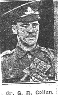 Gollan George R, Gunner, Conon
