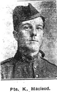 Macleod Kenneth, Pte, Canada ex Conon