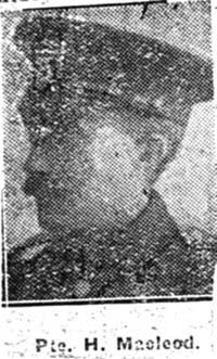 Macleod Hugh, Pte, Contin