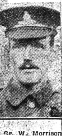 Morrison William, Gunner, Cromarty