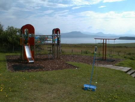 Play area at Achiltibuie.