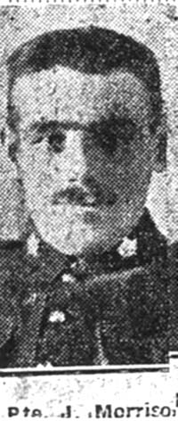 Morrison John, Pte, Cromarty