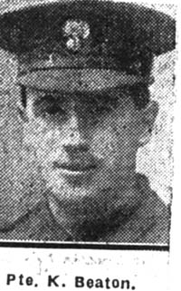 Beaton Kenneth, Pte, Cromarty