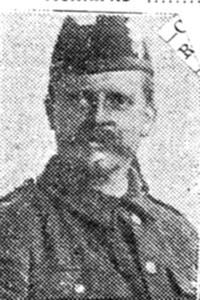 Dowie Robert, Pte, N Queensferry ex Cromarty