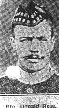 Ross Donald, Pte, Delny