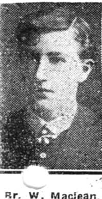 Maclean William, Bombardier, Dingwall
