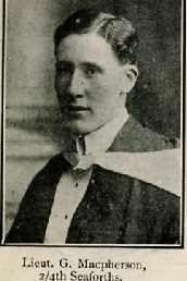 Macpherson George W K, Capt, Dingwall