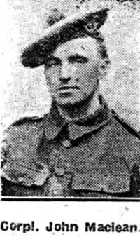 Maclean John, Corp, Dingwall