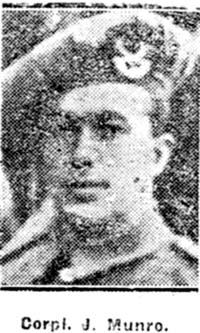 Munro John, Corp, Dingwall