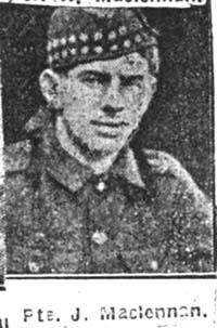 Maclennan Jack, Driver, Dingwall