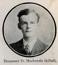 Mackenzie Donald, Drummer, Dingwall