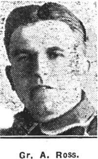 Ross A, Gunner, Ex Dingwall