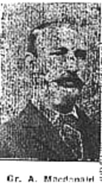 Macdonald Angus, Gunner, Dingwall