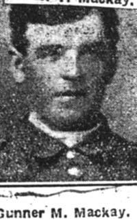 Mackay Murdo, Gunner, Dingwall