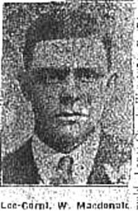 Macdonald William, L Corp, Dingwall