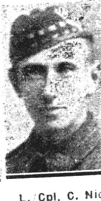 Nicol Charles, Lance Corp, Dingwall