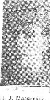 Macgregor John, Lieut, Dingwall