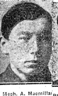 Macmillan A, Mechanic, Dingwall