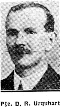 Urquhart Donald R, Pte, Dingwall