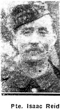 Reid Isaac, Pte, Dingwall