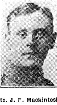 Mackintosh Jack F, Pte, Manchester connections to Dingwall