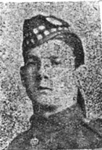 Dunbar James L, Pte, Dingwall