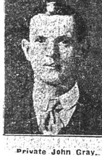 Gray John, Pte, Dingwall