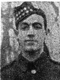 Macdonald Peter, Pte, Dingwall