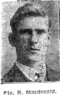 Macdonald R, Pte, Canada Ex Dingwall