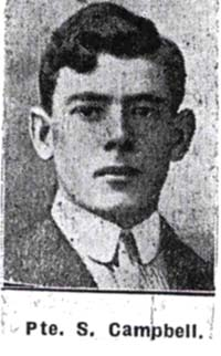 Campbell Sweeton, Pte, Dingwall