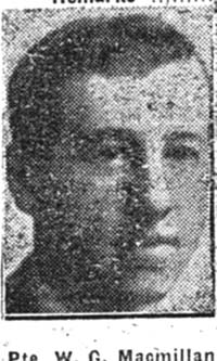 Macmillan W G, Pte, Dingwall