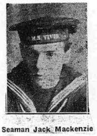 Mackenzie Jack, Seaman, Dingwall