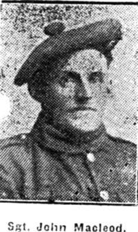 Macleod John, Sgt, Dingwall