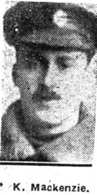 Mackenzie Kenneth, Sgt, Dingwall