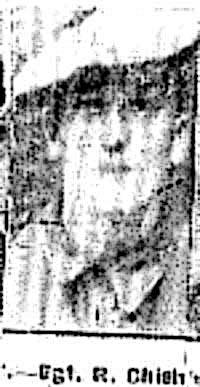 Chisholm Roderick, Sgt, Glasgow Ex Dingwall