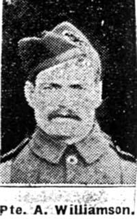 Williamson Alexander, Pte, Edderton