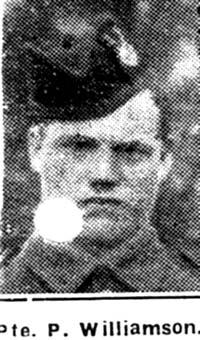 Williamson Peter, Pte, Edderton
