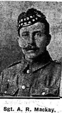 Mackay Andrew R, Sgt, Edderton
