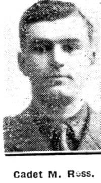 Ross M, Cadet, Evanton