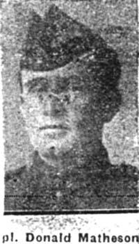 Matheson Donald, Corp, Evanton