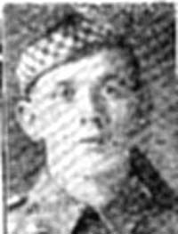 Macdonald Roderick, Pte, Evanton
