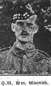 Macnab William, QMS, Evanton